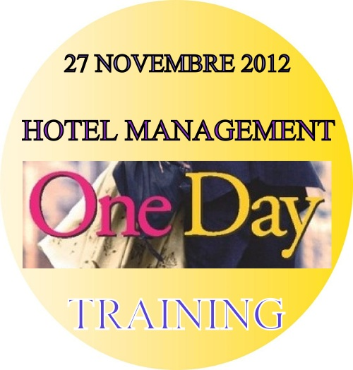 TRAINING HOTEL MANAGEMENT ONE DAY